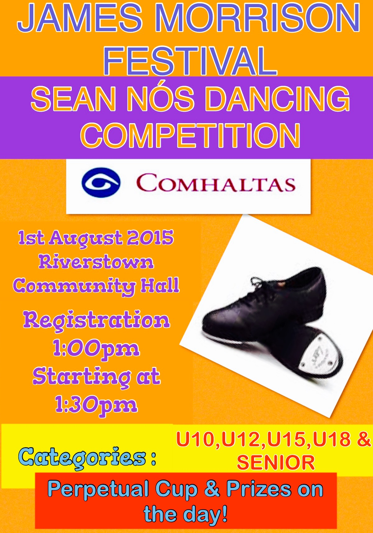 Sean Nós Dancing Competition 2015