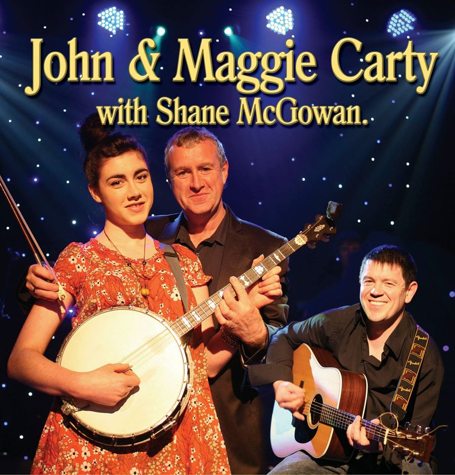 John & Maggie Carty with Shane McGowan Concert